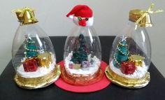 DIY snow globe with recycling – DIY snow globe – DIY Nieve Globe – christmas decorations Christmas Ornaments To Make, Easy Christmas Crafts, Simple Christmas, Christmas Time, Christmas Wreaths, Christmas Bulbs, Christmas Decorations, Holiday, Diy Snow Globe