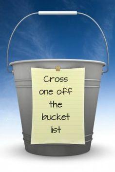 Bucket List items done!!!