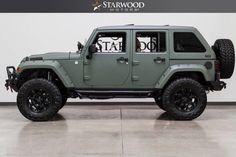 2014 Jeep Wrangler Unlimited 4x4 Lift Liner Leather Fastback Hardtop Dallas, Texas   Starwood Motors