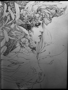 line & sketch 3 by Zhang Weber on Behance Pencil Drawing Images, Drawing Sketches, Art Drawings, Illustration Art, Illustrations, Line Sketch, Art Graphique, Schmuck Design, Art Sketchbook