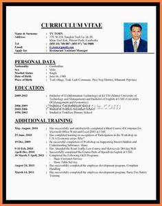 Contoh Resume Yang Terbaik Kalde Bwong Co