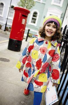 Mini Boden 'Rainy Day' Raincoat (Toddler Girls, Little Girls & Big Girls) | Nordstrom