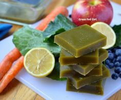 Green Juice Detox Gelatin Gummies