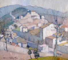 Anne Redpath, Landscape, South of France, 1937