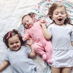 Three Kids is Like...