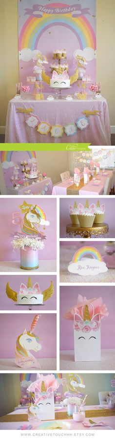 Unicorn Birthday Party Ideas! ✨✨ ❇️ƒ๏ll๏ฬ ๓є❇️ - @tessmcx ~☆~