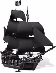 Lepin 16006 Pirates of the Caribbean The Black Pearl Model set Building Blocks Kits Funny Bricks Educational Toys For Boys Gifts