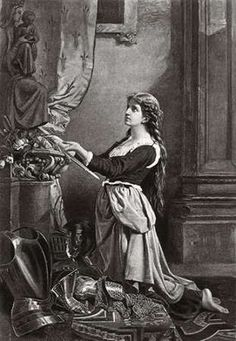 Joan Of Arc At Prayer