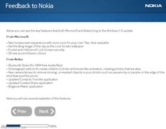 It seems Nokia is working to provide Windows Phone 7.8 update to its users and that's why they are asking for the feedback from its users and provide them the list of Windows Phone 7.8 features that both Nokia and Microsoft is going to bring through this update.