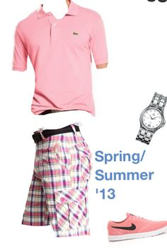 Maybe too pink, but maybe not for a secure guy #pink #combo #classy #golf
