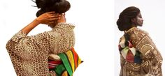 Cameroonian artist and Japanese designer collab for stunning Kimono line | AFROPUNK