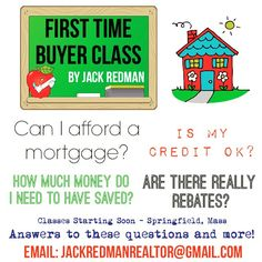 First Time Buyer Classes