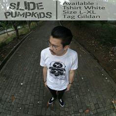 Tshirt SLIDE PUMPKIDS Available at https://www.instagram.com/p/BX-nkzkF-CQ/