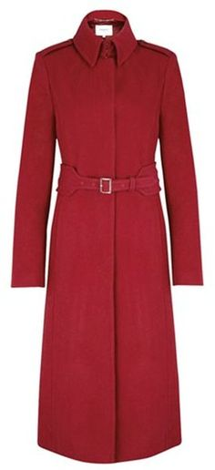 LK Bennett Ami coat - Kate and William support the Royal British Legion - the Duke and Duchess of Cambridge met with London Poppy Day supporters