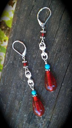 Gypsy woman Handmade earrings