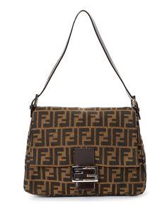 Fendi Mamma Baguette Shoulder Bag - Vintage