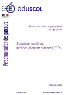 Module de formation à la scolarisation des EIP (au format PDF) School Organisation, Education Positive, Class Management, Kids And Parenting, Module, Montessori, Homeschool, Knowledge, Positivity
