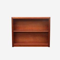 2 Tier Stained bookcase