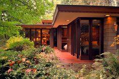 Situé à Sammamish, Washington est la maison brandes conçu par Frank Lloyd Wright et achevé en 1952. Photo : Paul Michael Davis