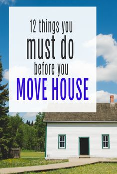 12 things you need to do in advance of moving - a list of essential jobs and things you musyc conder to make moving home and buying a new property go roeally smoothly #abeautifulspace #movinghouse #movinghome #property #realestate Moving Home, Moving Tips, Admin Jobs, Day Off Work, Amazing Transformations, Try To Remember, New Property, Home Insurance, Home Hacks