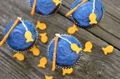 Going Fishin' Cupcakes | Tasty Kitchen: A Happy Recipe Community!