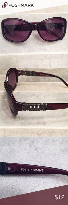 32264b2f29 FOSTER GRANT Sunglasses with Gun Metal Side Detail FOSTER GRANT Sunglasses  with Gun Metal Side Detail