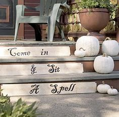 Come in and sit a spell....