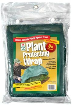 Easy Gardener Plant Protecting Wrap, Green, 6-Feet Diameter by Easy Gardener. $10.18. Easy to install and remove. Perfect against fall and winter cold wind and frost. Great protection for early spring plantings. Easy gardener plant protecting wrap-green 6-feet diameter-easy gardener plant protecting wrap-green 6-feet diameter .