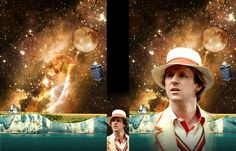 The artwork for my current boxsets (still WIP) for some of the Big Finish audio adventures. The artwork is for the Doctor boxset, which feature Sara. Doctor Who - The Fifth Doctor Adventures - Art Fifth Doctor, Doctor Who, Peter Davison, Big Finish, Christina Rossetti, Blue Box, Dr Who, Mad Men, Fandom