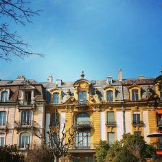 Quai Léopold-Robert Neuchâtel Mansions, House Styles, Fancy Houses, Mansion, Manor Houses, Mansion Houses, Villas