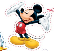 Download  Print Free Disney Character Stickers