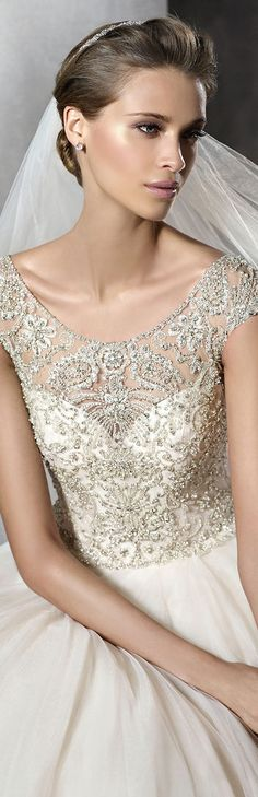 PRONOVIAS PRISMAL wedding gown More Pronovia Bridal, Wedding Just Gowns, Weddings ️, Wedding Gowns, Pronovia Prismal, Bodas Wedding, Bruid Trouw Jurkenwedding Pronovias Bridal