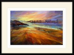How To Start A Pastel Painting with a Realistic Seascape - YouTube