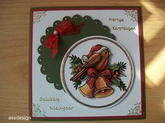 Voorbeeldkaart - 2016 - 44 - Categorie: Kerstkaarten - Hobbyjournaal uw hobby website