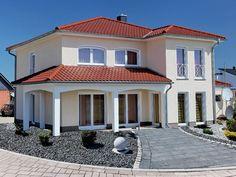 25 Frei Geplante Architektenhäuser Von Haas Fertigbau | Fertighaus ... Haus Bauen Ideen Mediterran
