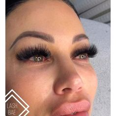 """Your Lash Bae, Kady-Jo on Instagram: """"I don't know why the cover photo got glitchy but let's try this upload again! Here, the beautiful @chopp3d_liv3r is wearing mega volume…"""" Eyelash Extensions Styles, Volume Lash Extensions, Eyelashes How To Apply, Eyelash Kit, Scaly Skin, Eyes On The Prize, Volume Lashes, Long Lashes, Face And Body"""