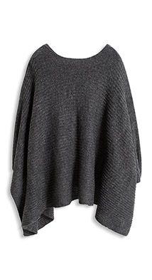 Esprit / Poncho aus weichem Rippstrick. CapesOnline ShopsMaterialPonchosSweater  ...