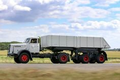 Henslhel. kipper Transporter, Busses, Classic Trucks, Heavy Equipment, Mercedes Benz, Europe, Cars, Trailers, Vehicles