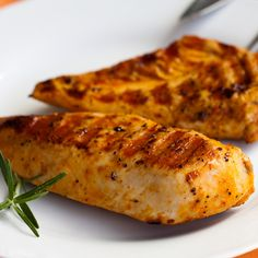 This grilled turkey breast recipe should be planned a day in advance of cooking as the flavor of the marinade needs several hours to fully penetrate the meat.