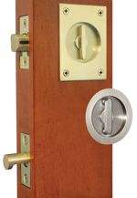 Accurate Pocket door locks & hardware