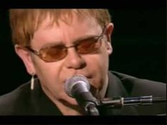 Elton John - Your Song (live)  I have been blessed to have seen 2 of his concerts.  It always amazed me how his little fingers can do such magic.-kim
