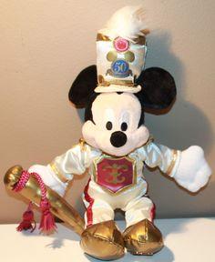 Mickey Mouse Main Street USA 50 years of magic Disneyland Disney Toys, Disney Stuff, Mickey Mouse Doll, Disney Shopping, Mikey Mouse, Disney Fanatic, Disneyland Resort, Disney Christmas, Main Street