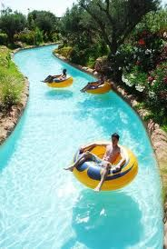 Lazy rivers are the best.
