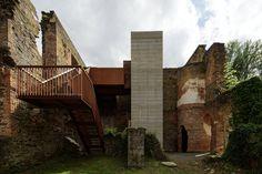 Galería de Centro de Visitantes para El Monasterio de Villers / Binario Architectes - 1