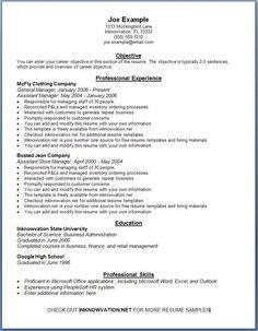 free resume samples online sample resumes
