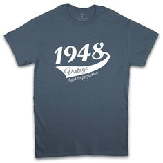 "Thanks for the kind words! ★★★★★ ""Nice shirt lovely gift for 70th birthday"" Joanne B. http://etsy.me/2DytwJV #etsy #clothing #shirt #birthday #70thbirthdaygift #m70bdd100 #1946birthdayshirt #70thbirthdayshirt #70thtshirt #giftforman"