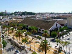 La Calzada, desde el Hotel Guadalquivir, Sanlúcar de Barrameda, CÁDIZ