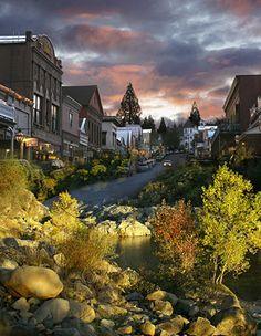 Hallmark Christmas Card Movie Nevada City location guide, mark your calendar to see the classic ...
