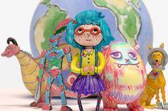 Ways to immortalize kids art work