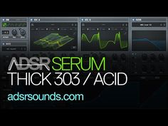 More sound design tutorials - http://www.adsrsounds.com Download files - http://www.adsrsounds.com/Free/ADSR_SRM_DD_ACID303.zip In this tutorial learn how to...